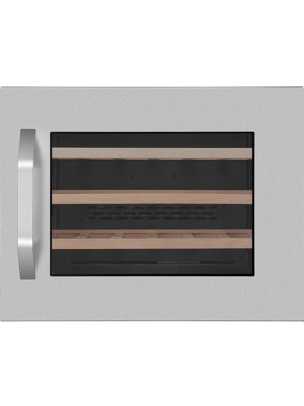 Smaak van de Wereld inbouw wijnklimaatkast 45cm - Wine Klima S24 RVS