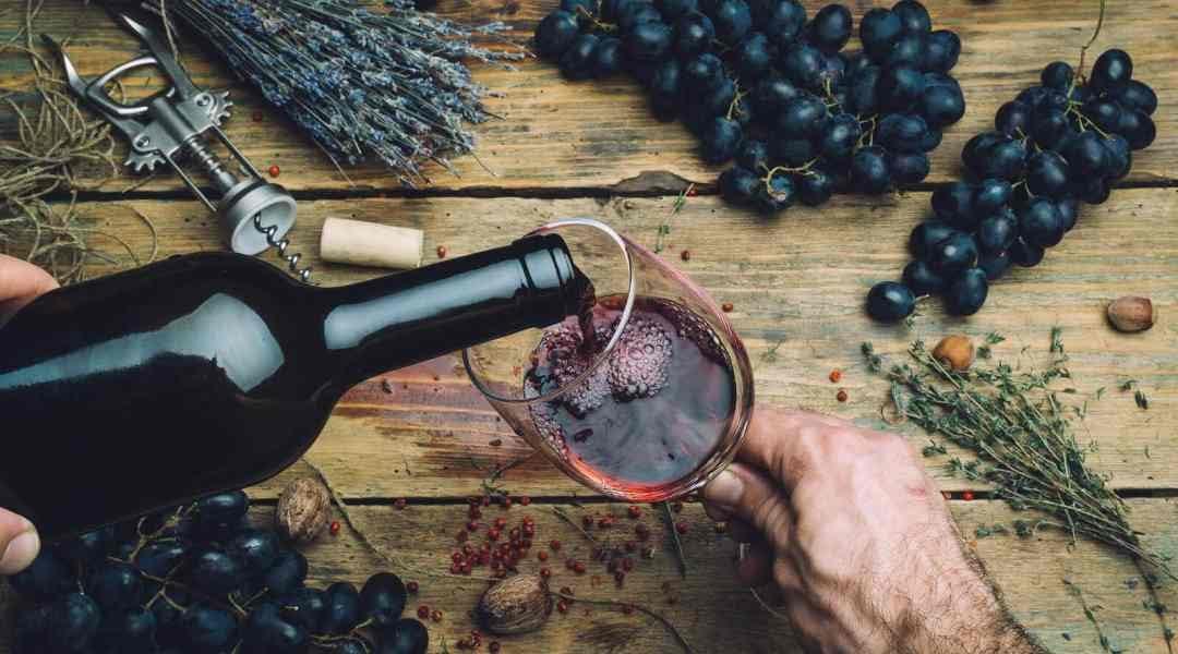 Rode wijn bewaren