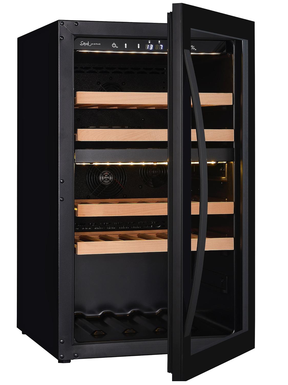 Smaak van de Wereld wijnklimaatkast - Wine Klima D40T Zwart